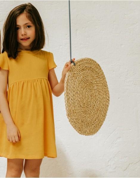 Vestido Yellow Pista delante