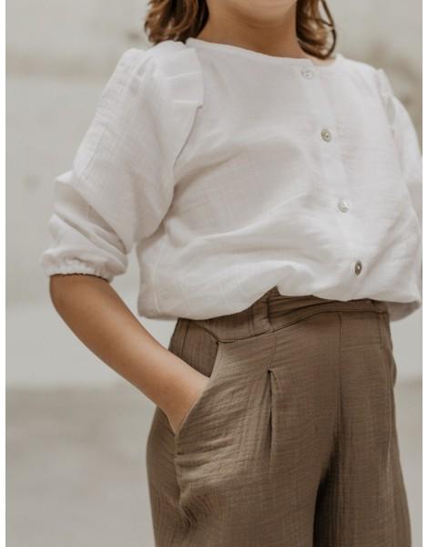 Pantalon Fakir Caqui delante