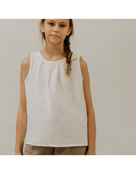 Blusa Peana white delante