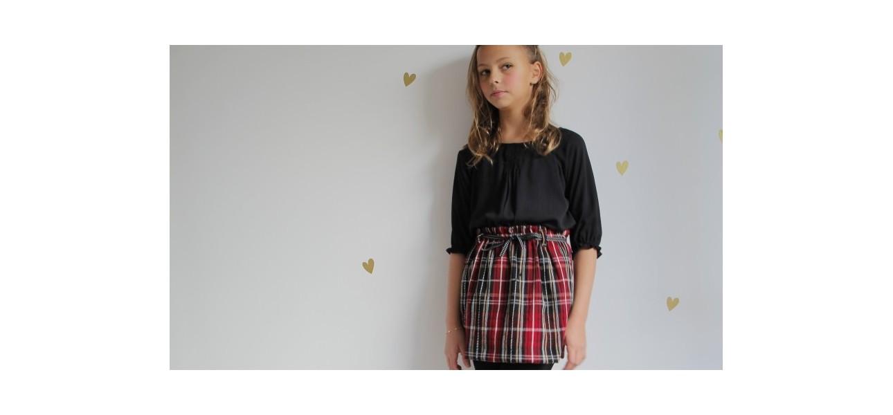 outlet de faldas de invierno y otoño
